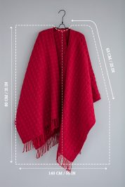 Scarlet-Berries-–-Wool-Poncho