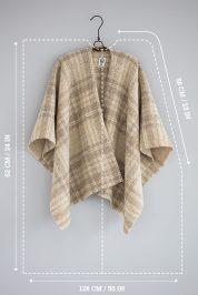 Tartan-Light-Olive-–-Wool-Poncho